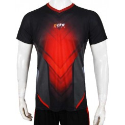 jersey cks red - black