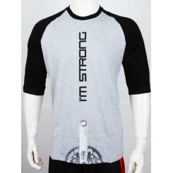 t-shirt cks i am strong - grey