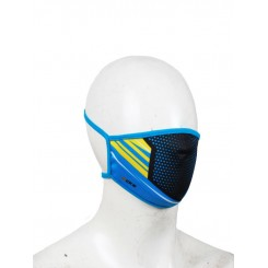 masker cks shield - blue black