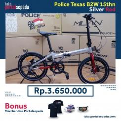 sepeda lipat police texas b2w bonus merchandise portal sepeda