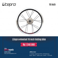 litepro wheelset 16 inchi